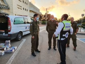 ZAKA working with IDF Home Front Command