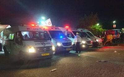 Mass Casualty Event in Meron, ZAKA Responds