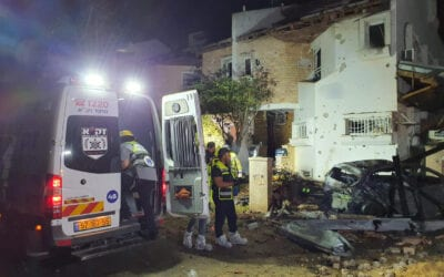 Woman killed as a result of a direct hit by a rocket in Rishon LeZion